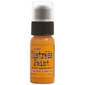 Tim Holtz Distress Paint- Spiced Marmalade